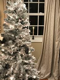 Holiday Time PreLit 4u0027 Cashmere Artificial Christmas Tree Clear 6 Foot Christmas Tree With Lights