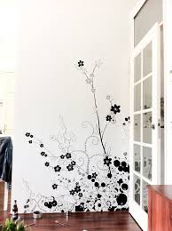 a nice little hand painted design on a wall