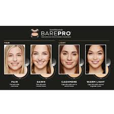 29 All Inclusive Barepro Shade Finder