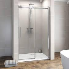 V8+ Frameless Sliding Shower Door 1200