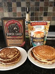 Macros and Muscles Nutrition Kodiak Protein pancake mix vs Birch