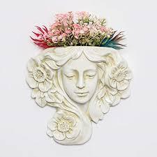 angel resin hanging wall planter