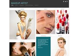 makeup artist template wix love this but don t want