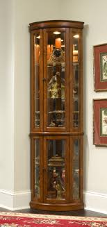 Corner Curio Cabinet Edwardian II Pulaski