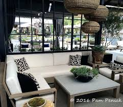 rooftop garden showcases contemporary outdoor furniture oasis austin s in texas patio furniture