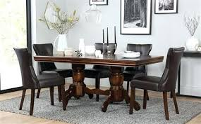 6 chair dining table set dining table with 6 chairs dark wood extending dining table with 4 6 chair dining table set