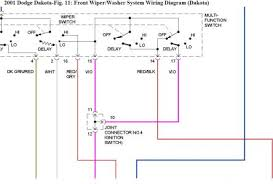 2001 dodge dakota windshield wipers electrical problem 2001 dodge 01 Dakota Wiring Diagram i don't have a procedure for testing, so looking at the wiring diagram i see that the ignition switch appears to be part of this circuit 01 dodge dakota radio wiring diagram