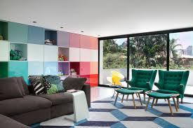 Dwell modern lounge furniture Furniture Stores Modern Paint Colors That Make Bold Statement Dwell Regarding Colorful Furniture Decor Birtan Sogutma Modern Paint Colors That Make Bold Statement Dwell Regarding