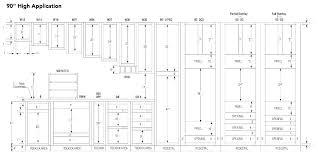 Kitchen Cabinet Dimensions Chart Standard Kitchen Cabinets Cabinet Sizes Size Chart Sout