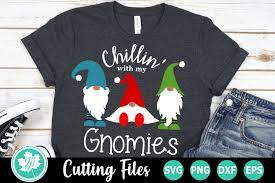 This is an instant digital download meaning there is no physical item that will be shipped to you. Chillin With My Gnomies A Christmas Svg Cut File 370081 Cut Files Design Bundles