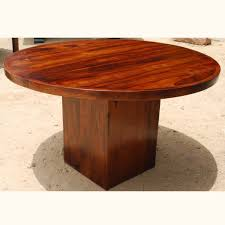 Photo  Solid Wood Round Kitchen Table Images - Dining room table solid wood