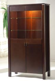display cabinets dinette furniture wooden display unit with glass doors