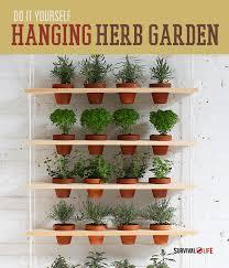 diy indoor vertical herb garden