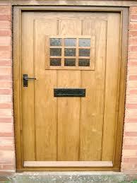 Solid Oak Front Doors Surrey