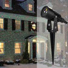 Mini Lights On House Christmas Mini Red Green Moving Twinkle Laser Lights Projector Outdoor Ip65 Waterproof Red Decorations For Garden Lawn House