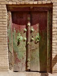 Old Door   Old door of the historical center of Yazd.   dynamosquito ...
