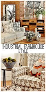 Industrial Living Room Decor Industrial Farmhouse Decorating Thistlewood Farm