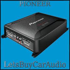 pioneer gm d8604. pioneer gm-d8604 class d 1200 watt 4/3/2 channel bridgeable power pioneer gm d8604
