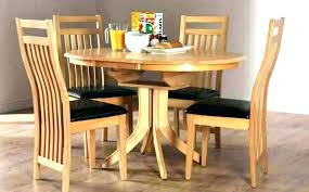 dining room tables extendable dining room table round expandable extendable g table set expandable round image