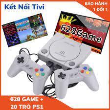 Máy chơi game 4 nút 628 trò không lặp + 21 trò ps1 kết nối với TV Tay Chơi  Game Cổ Điển , Máy Chơi Game Cầm Tay chính hãng 293,000đ