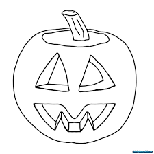 pumpkin jack o lantern coloring pages