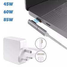 2 IN 1 Charging Cable 45W 60W 85W MagSafe 2 Types T Tip L Tip Laptop Power  Adapter Charger for Apple Macbook Air Pro All Series|Computer Cables &  Connectors