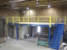 warehouse mezzanine modular office. A Used Mezzanine Allows You To Increase Your Storage Capacity Without Increasing Square Footage. Conesco Is Here Help Solve Material Warehouse Modular Office