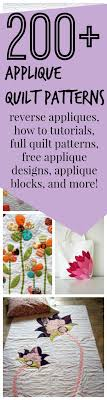 Best 25+ Free applique patterns ideas on Pinterest | Applique ... & 200 + Free Applique Designs and Applique Quilt Patterns - Learn how to  applique and download Adamdwight.com