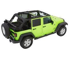 bestop trp nx glide convertible soft top 4 door jeep wrangler 5492335 5492317