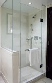 image of shower with glass doors image of frameless sliding