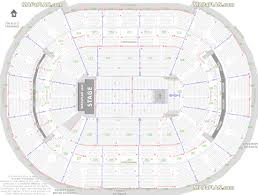 Washington Dc Verizon Center Detailed Seat Row Numbers