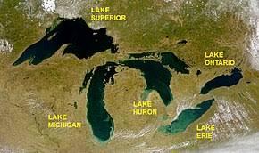 Lake Huron Water Levels Historical Chart Great Lakes Wikipedia