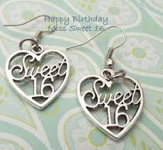 Sweet 16 Birthday Earrings Teenage Girl by HopeisHipJewelry   Etsy ...