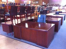 modern real wood office furniture with used high end wood office desks with wooden credenza sets 11