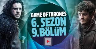game of thrones 6 sezon 9 bölüm izle jon snow ile ramsay