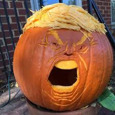 Crazy Cool Pumpkin Designs 20 Trumpkins That Are Making Halloween Great Again