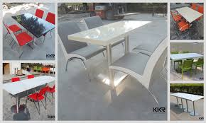 acrylic outdoor furniture. resin dining table top acrylic kitchen white high outdoor furniture r