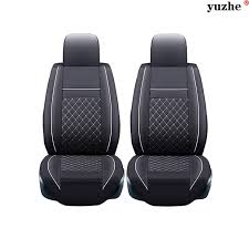 mitsubishi eclipse 2014 black. 2 pcs leather car seat covers for mitsubishi lancer outlander pajero eclipse zinger verada asx accessories styling 2014 black