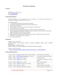 Resume Templates For Openoffice Resume Format Pdf Free Download