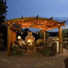 Outdoor GreatRoom Sonoma Sonoma Arched Wood Pergola  HomeclickcomOutdoor Great Room