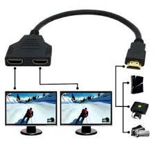 Bộ cáp chuyển đổi HDMI đực sang 2 đầu cái