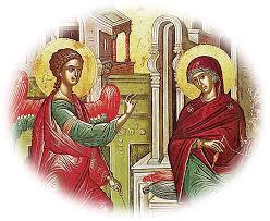 Αποτέλεσμα εικόνας για ευαγγελισμός θεοτόκου