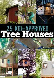 Garden Tree House Ideas This Is A Bit Elaborate But All Children Diy Treehouses For Kids