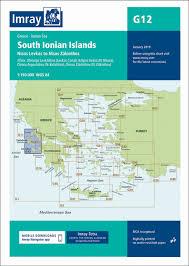Imray Charts Mediterranean G12 South Ionian Islands Imray Chart New Edition Imray