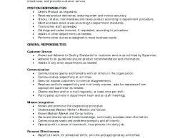Grocery Clerk Job Description For Resume Grocery Clerk Job