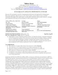 Quality Assurance Associate Sample Resume Quality Assurance Resume For Pharmaceutical Jobs Professional 19