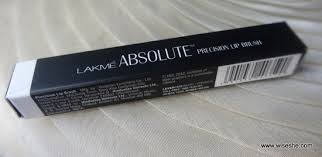 lakme absolute precision lip brush review makeup brush