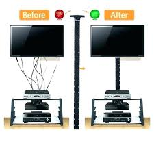 in wall cable management