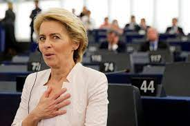 Ursula von der leyen was appointed president of the european commission, the executive branch of the european union, in july 2019. German Defense Minister Ursula Von Der Leyen Wins Vote For European Commission President Wsj
