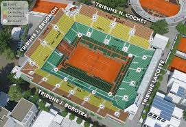 Philippe Chatrier Seating Chart Roland Garros 2019 Philippe Chatrier Seats Tennis
